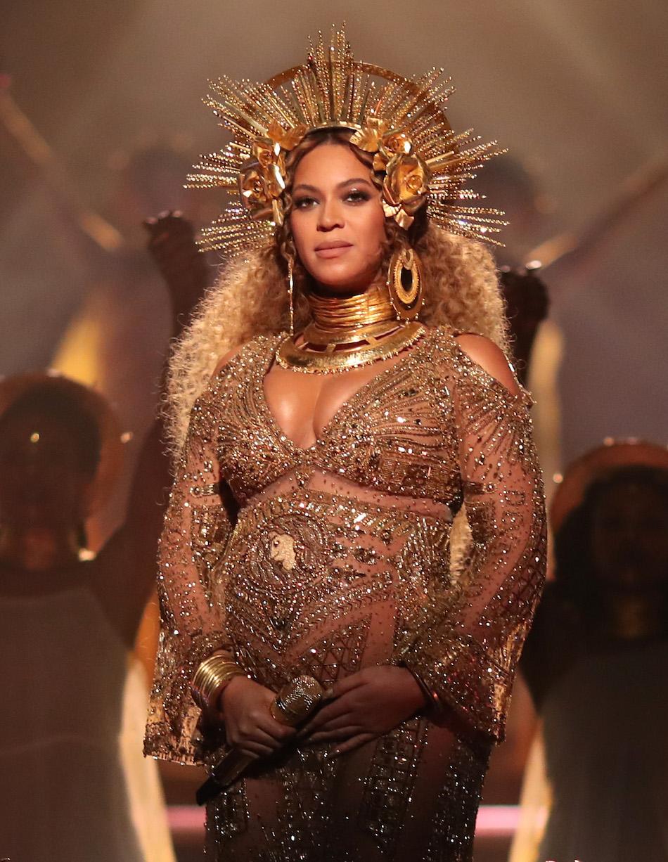 Beyoncé: «Facciamo sentire le nostre voci di madri, di artiste di attiviste». Foto di Christopher Polk/Getty Images for NARAS