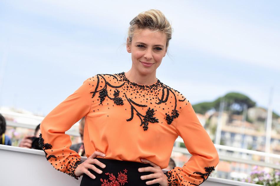 """Jasmine Trinca a Cannes durante la presentazione di """"Fortunata"""". Foto di Stephane Cardinale - Corbis/Corbis via Getty Images"""