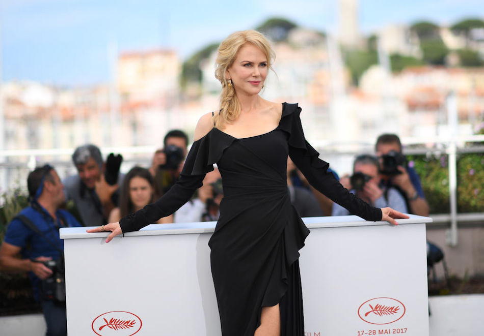 Nicola Kidman a Cannes. Foto di Anne-Christine Poujoulat/AFP/Getty Images