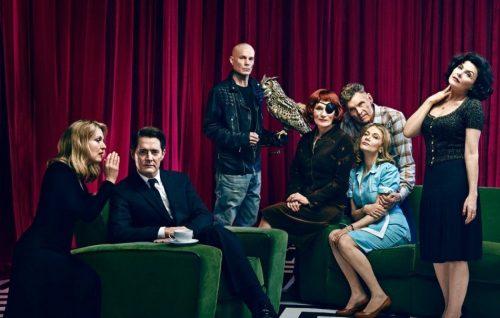 Il cast di Twin Peaks fotografato per EW!