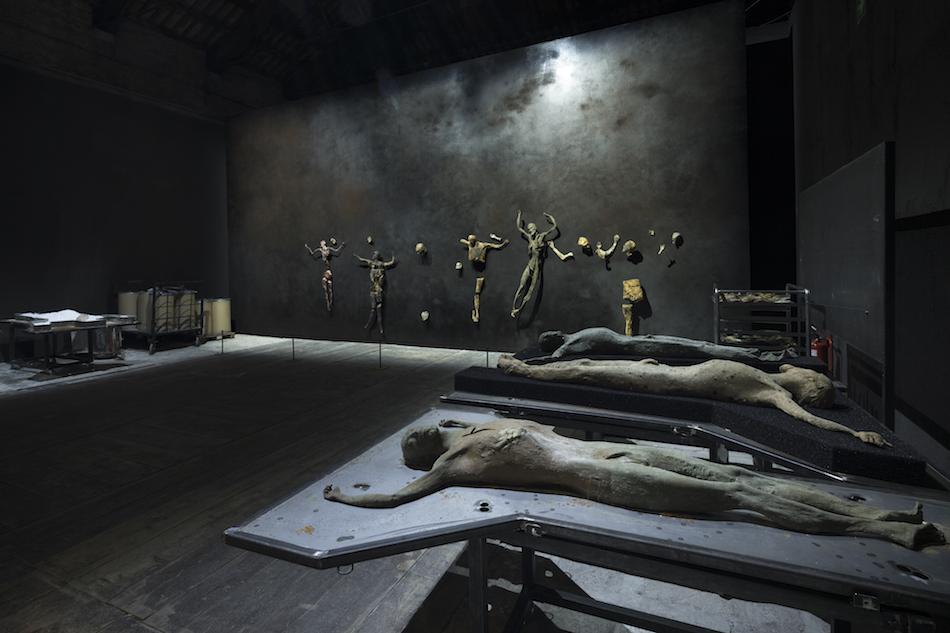 Work in progress, 9 maggio 2017. Esposizione Internazionale d'Arte della Biennale di Venezia. Foto di Roberto Marossi