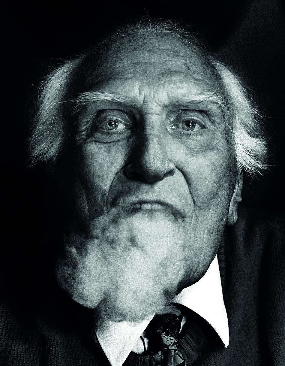 Marco Pannella. Foto di Giovanni Gastel