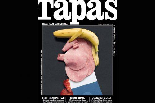 Trump, Donald Trump, Tapas, Tapas magazine, edible trump, foto, gallery,