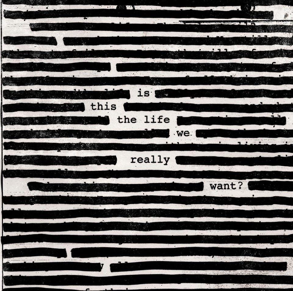 La copertina dell'album di Waters