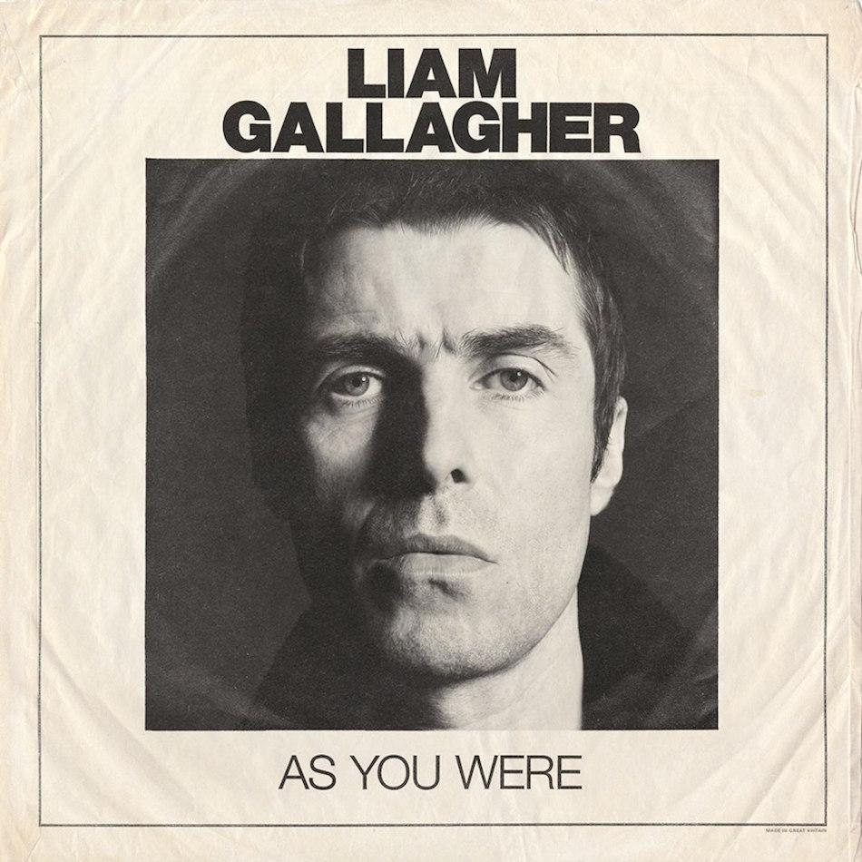 As You Were- Cover Album Liam Gallagher