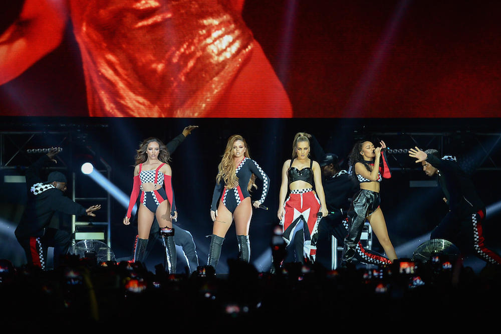 Le Little Mix in concerto a Milano. Foto di Francesco Prandoni