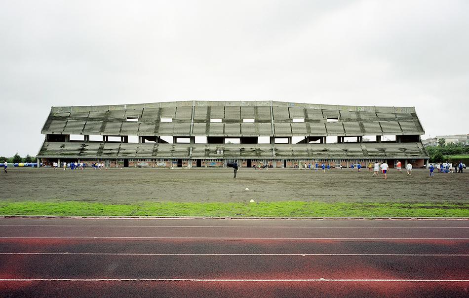 Giarre 2007, Stadio da Polo. Foto Gabriele Basilico