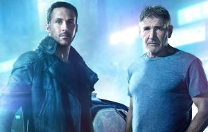 Harrison Ford e Ryan Gosling in Blade Runner 2049