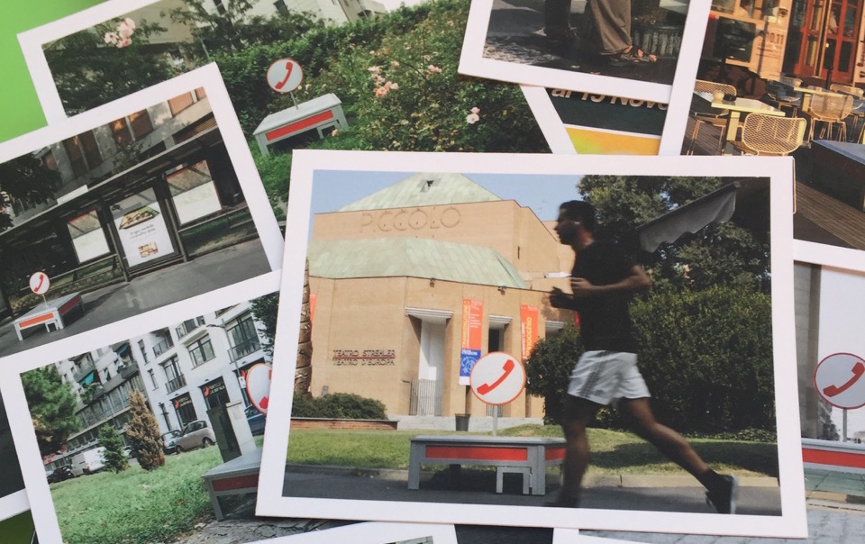 Cabina Estetica Milano : Spuntano cabine telefoniche e milano diventa una macchina del tempo