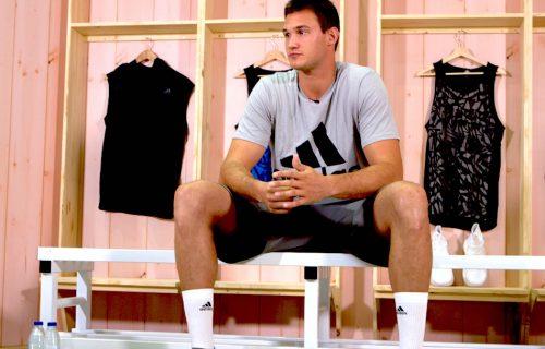 Danilo Gallinari a Barcellona per il lancio delle Crazy Explosive di adidas
