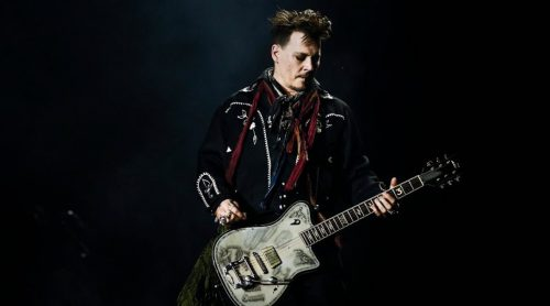 Johnny Depp rocks!
