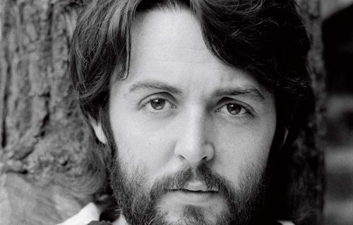 Paul McCartney nel 1968 ritratto da Linda McCartney