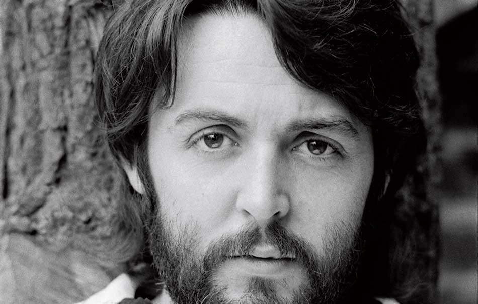 Paul McCartney nel 1968 ritratto da Linda McCartney