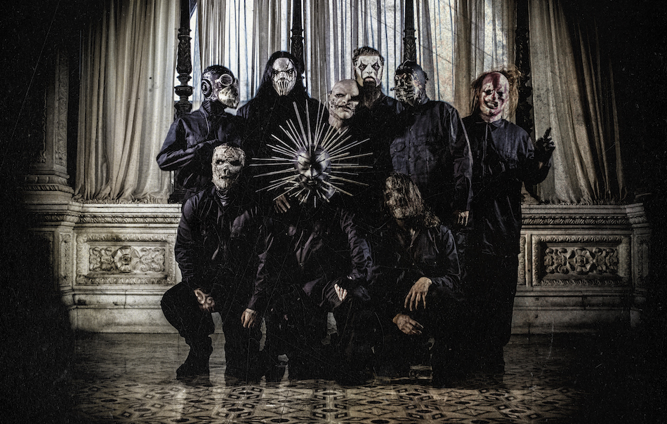 Gli Slipknot si sono formati a Des Moines nel 1995. Foto: M. Shawn Crahan