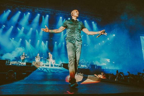Chester Bennington, Linkin Park, I-Days. Foto Kimberley Ross