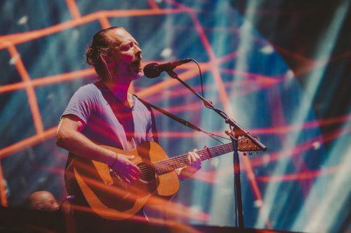 Radiohead, I-Days. Foto Kimberley Ross
