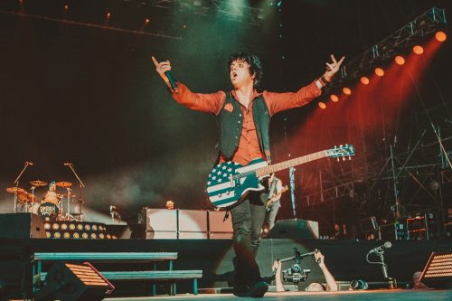 Green Day, I-Days. I-Days. Foto Kimberley Ross