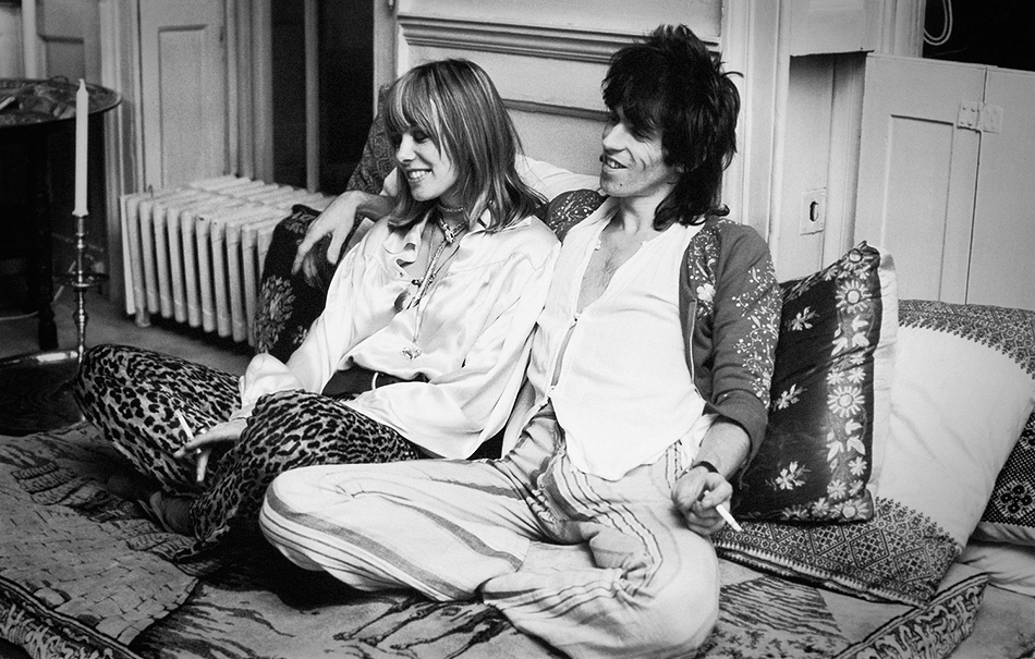Anita, Keith ei Rolling Stones
