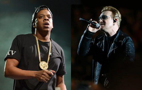 L'amore di Bono per Jay Z: «È l'arcangelo dell'hip-hop»
