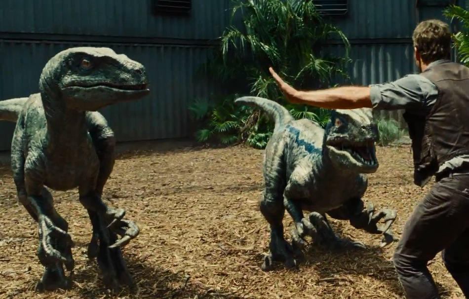 fotogramma di Jurassic World