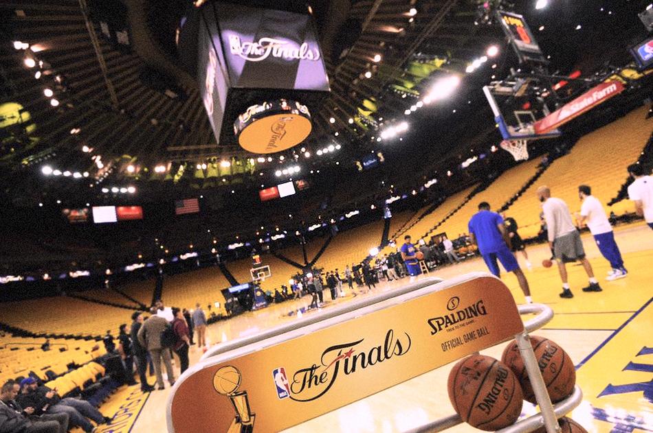 L'Oracle Arena. Foto via Facebook