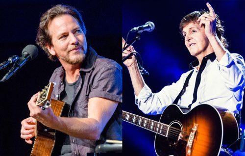 Eddie Vedder: «Quando Paul McCartney mi colpì con un pugno»