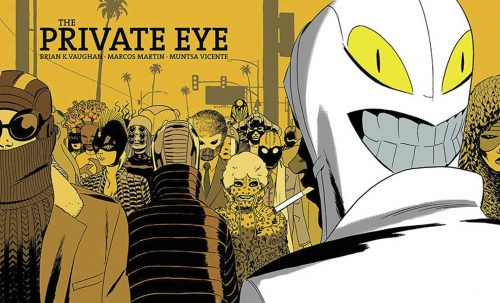 The Private Eye - Brian K. Vaughan