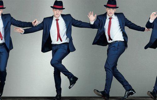 Sven Otten balla nel video backstage per Rolling Stone