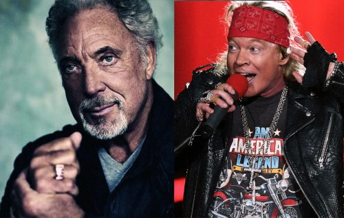 La polizia londinese rovina il party di Tom Jones e Axl Rose