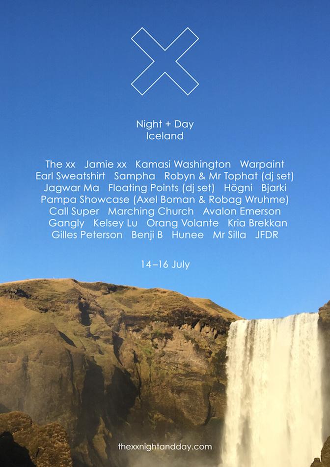 xx night + day islanda
