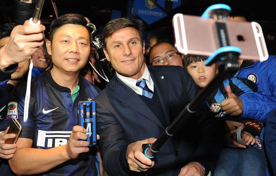 Javier Zanetti Inter Cina Vicepresidente