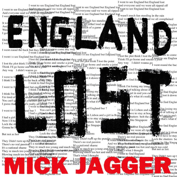 """La copertina di """"England Lost"""""""