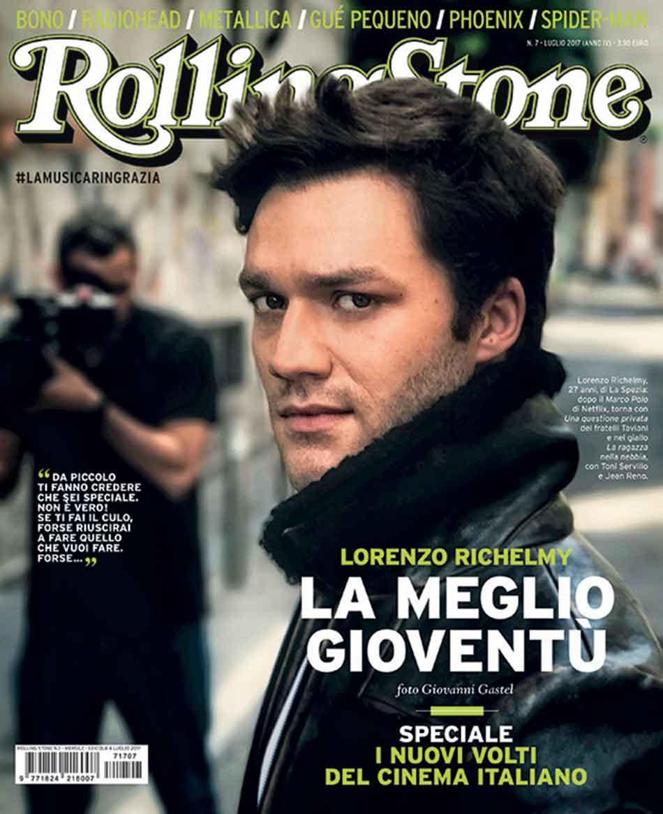 Rolling Stone cover luglio low