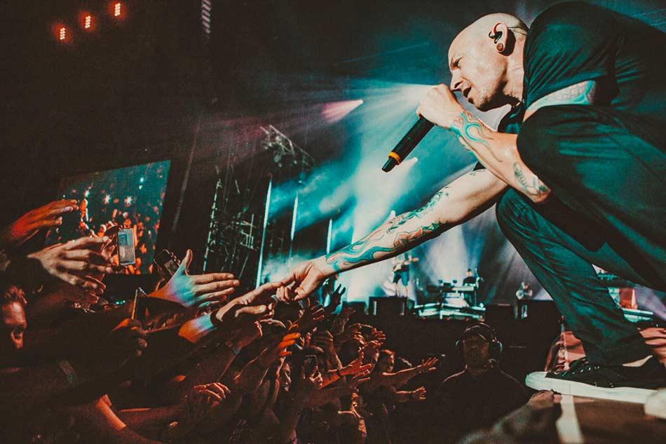 Chester Bennington Linkin Park I-days 2017