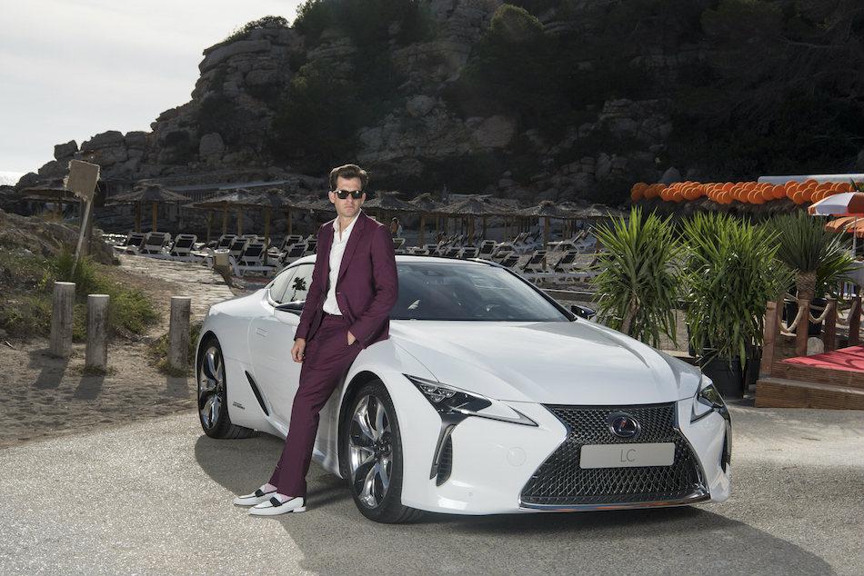 Mark Ronson Lexus