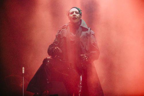 Il reverendo Manson arriva a Roma