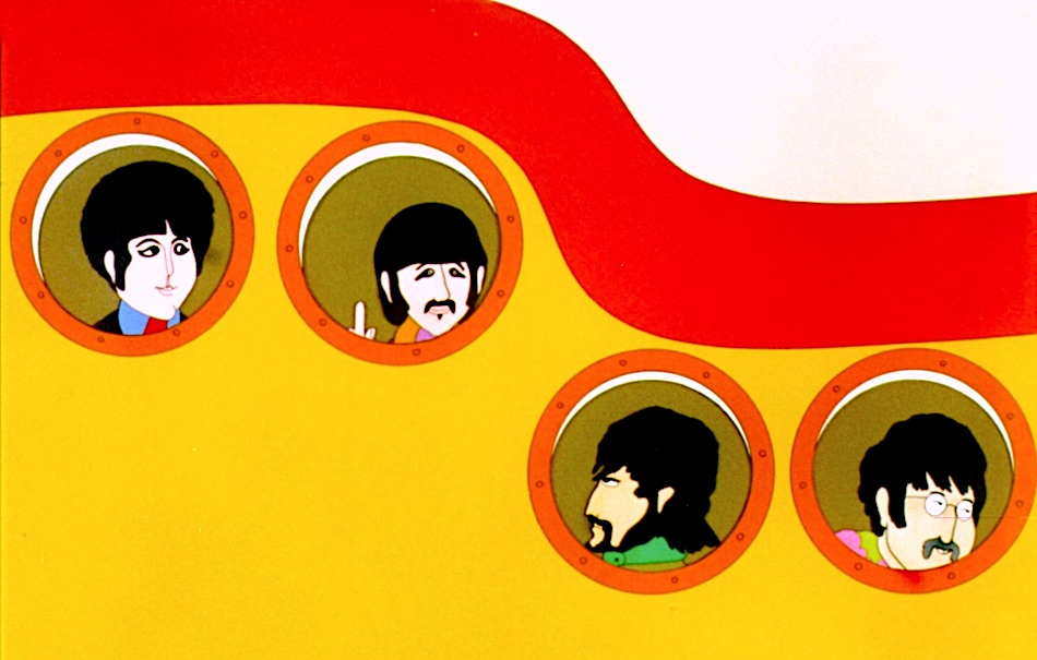 yellow submarine fumetto