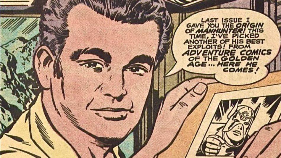 Jack Kirby ritratto da se stesso