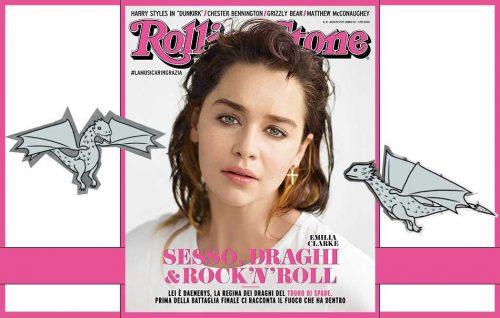 «Sesso, draghi & rock 'n' roll», il nuovo Rolling Stone è regale