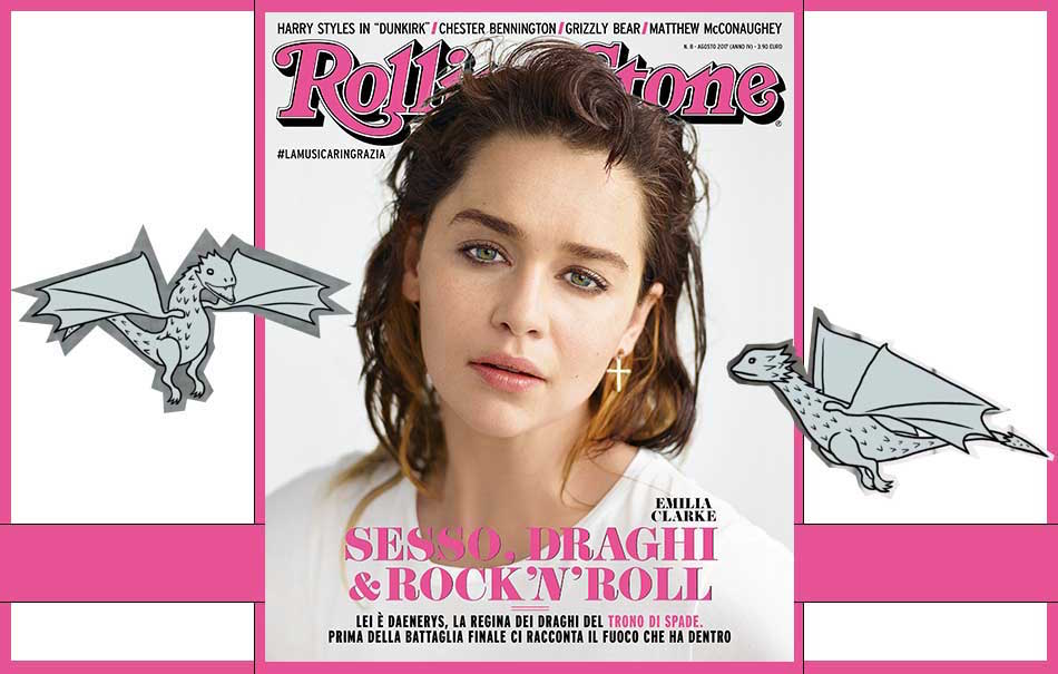 Emilia CLarke Rolling Stone