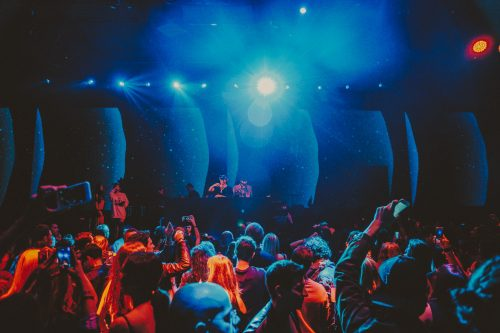 Un momento della festa di Rolling Stone Italia. Foto: Kimberley Ross