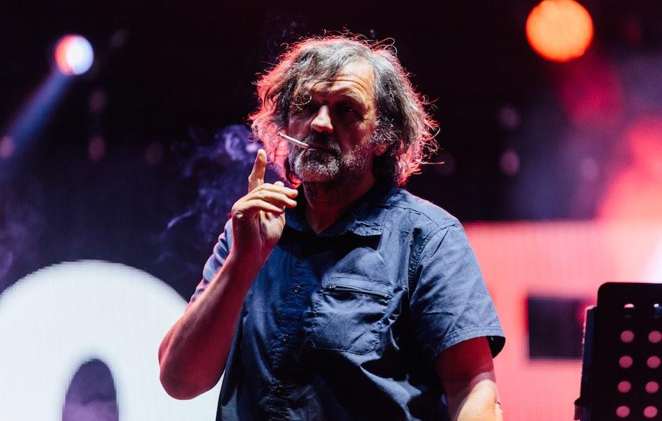 Emir Kusturica sul palco dello Sponz Fest. Foto: Giuseppe Di Maio
