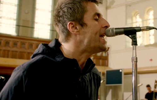 Il nuovo video dal vivo di Liam Gallagher