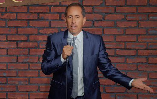Jerry Seinfeld: le prime immagini del suo show stand-up