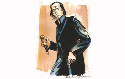 La storia di Nick Cave diventa una graphic novel