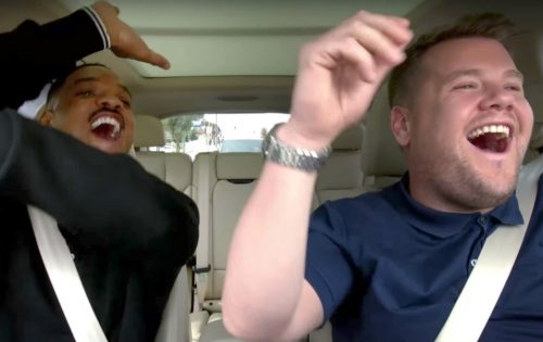 Will Smith è la prima star della nuova serie di 'Carpool Karaoke'