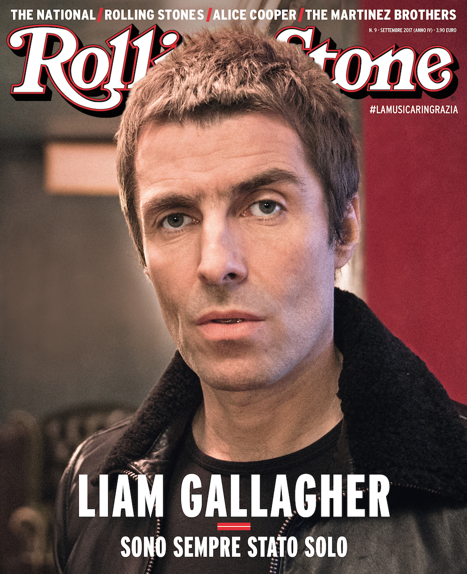 Liam Gallagher copertina Rolling Stone