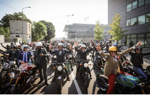 Milano, la Distinguished Gentlemans Ride del 24 settembre 2017