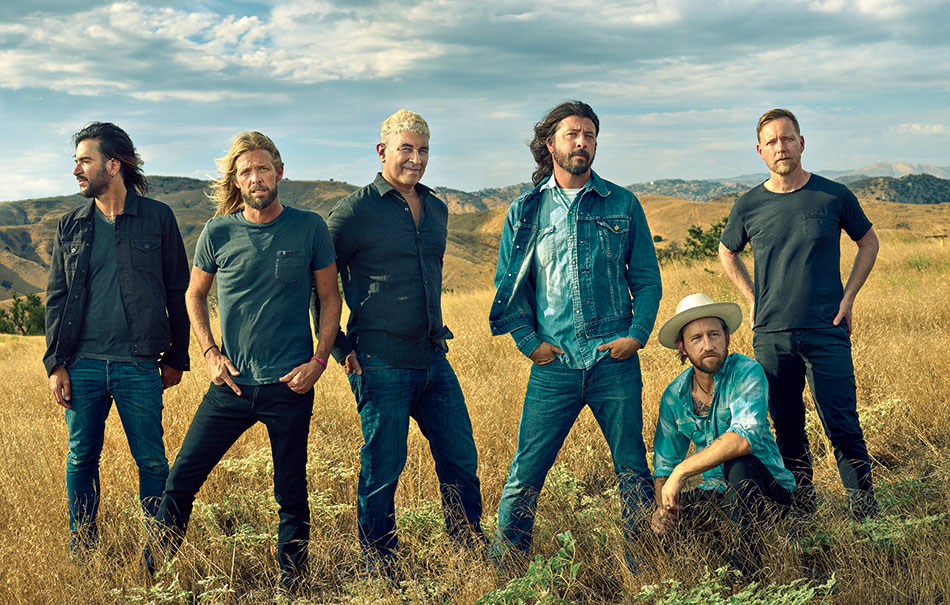 Foo Fighters. Foto Mark Seliger