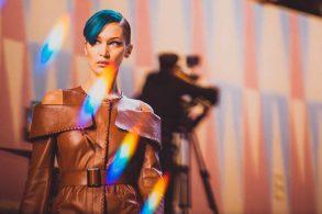 Bella Hadid-Milano Fashion Week